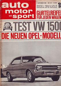 auto-motor-sport-18-66-VW-Kaefer-1500-im-Test-Die-neuen-Opel-Modelle-3-9-1966