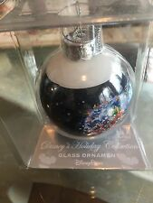 New Disney Holiday Collection Last Christmas Glass Ornament Parks Ball