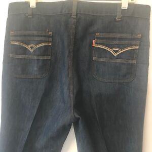 Vintage-1970s-Levis-for-Men-Embroidered-Orange-Tab-Mens-Jeans-size-37x29-USA-P6