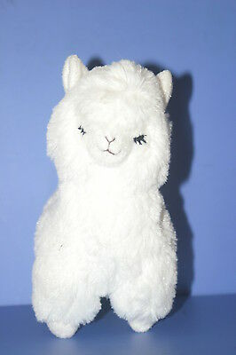 Arpakasso Alpacasso White Alpaca Accessory case Plush Doll in JAPAN Closed Eyes
