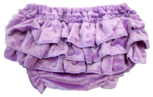 Lavender Minky Diaper Cover
