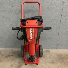 Hilti Te 3000 Avr Electric Demolition Jack Hammer Breaker With Cart Amp 4 Bits