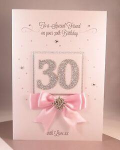 Luxury thirtieth 30th large handmade birthday card daughter image is loading luxury thirtieth 30th large handmade birthday card daughter m4hsunfo