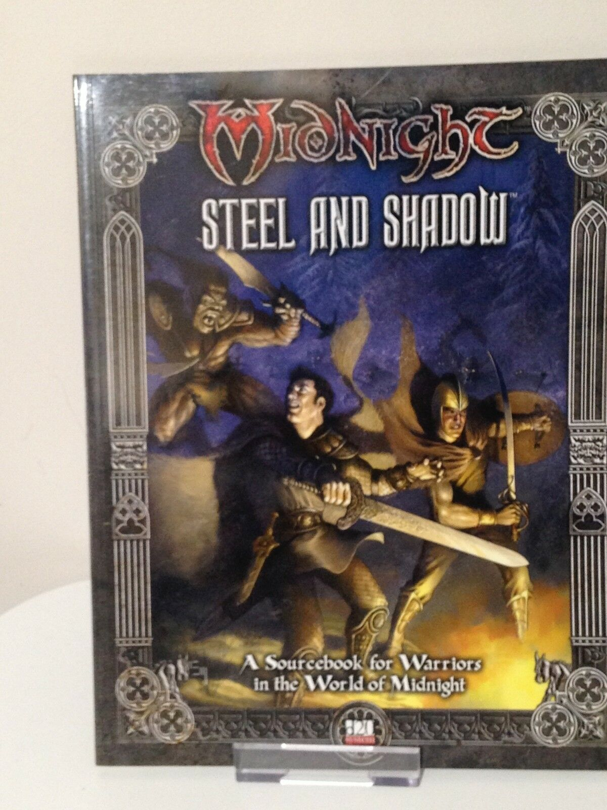 Midnight by Fantasy Flight  D20 - - -  Steel and Shadow - New MN10 2d65ef