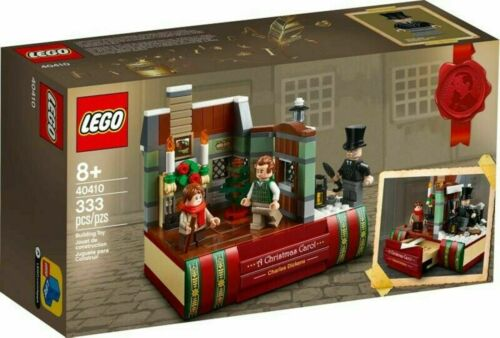 LEGO 40410 A Christmas Carol Charles Dickens /& 5006291 TEAL Brick NEW see pic