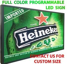 12 X 63 Full Color 10mm Outdoor Programmable Led Sign Digital Display Board