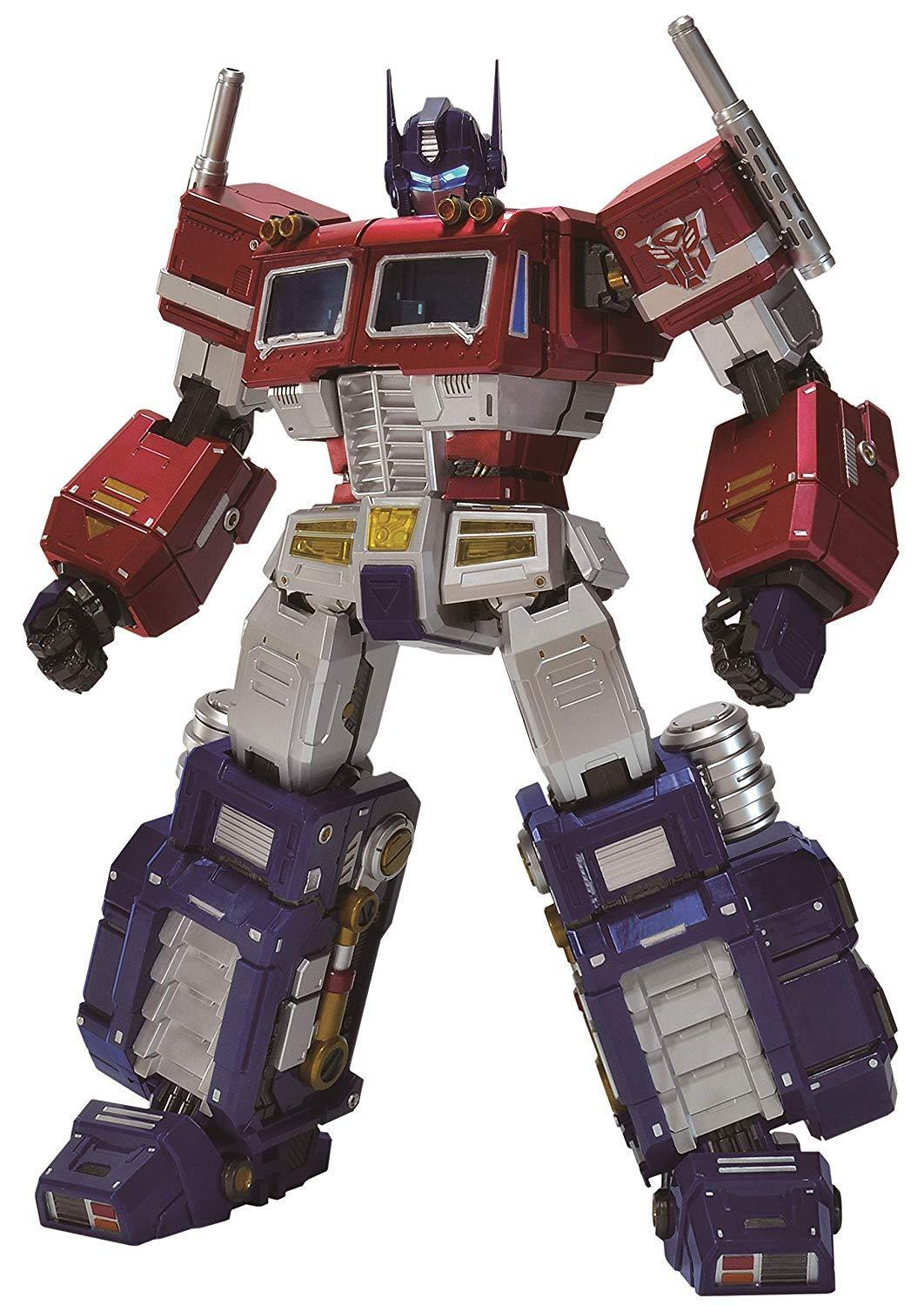 ALPHAMAX MEGA ACTION SERIES Transformers Convoy 480mm Action Figure EMS W T