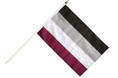 Stockflagge Stockfahne Kroatien 60x90cm Fahne Flagge mit Stock