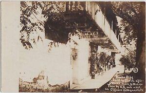 California-Ca-Real-Photo-RPPC-Postcard-SAN-FRANCISCO-Presidio-c1910-Spain-Mexico