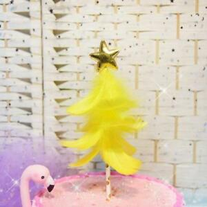 Feather Christmas Tree For Cake Decoration Wedding Birthday Cake