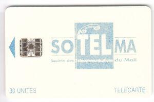AFRIQUE TELECARTE - PHONECARD .. MALI 30U SC7 SOTELMA +LOGO2 9N°R C46145581 PUCE m0Pchikl-09091306-266276809