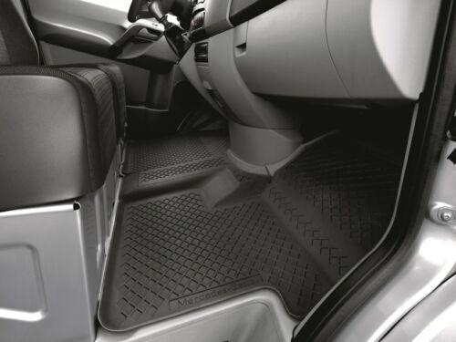 MERCEDES-BENZ allwettermatten tappetini in gomma sul davanti con canale aria Sprinter 906 ncv3