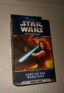 Star Wars The Card Game: Lure Of The Dark Side Force Pack (2013, Game) NEW