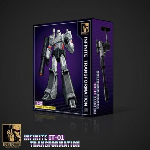 Transformers Megatron Masterpiece MP 36 G1 Figure Infinite IT01  KO version.