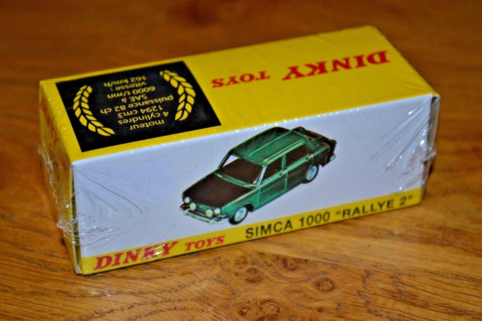 French DINKY TOYS ATLAS EDIZIONE Diecast N. 520 SIMCA 1000 RALLY 2 non aperto
