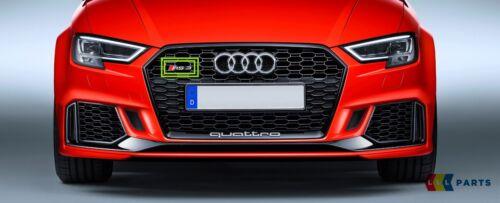 New Genuine AUDI RS3 17-18 RS3 Avant Badge Grille Emblème Chrome 8V5853736B 2ZZ
