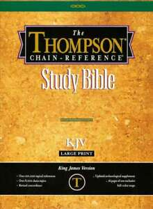 KJV-Thompson-Chain-Reference-Bible-Large-Print-Black-Bonded-Leather