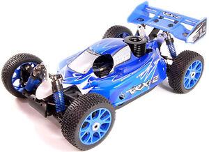 Buggy 1: 8 Vrx-2 Nitro Engine Go.21 3,49 et Radio 2,4 GHz Fly Sky Rtr 4wd Vrx