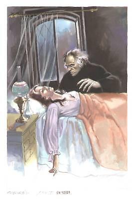 Originalzeichnung Titelbild Mitternachts-Roman Nr. 575