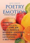 Poetry in Emotion: A Christian's Perspective by Martin L Sr Dornan (Hardback, 2013)