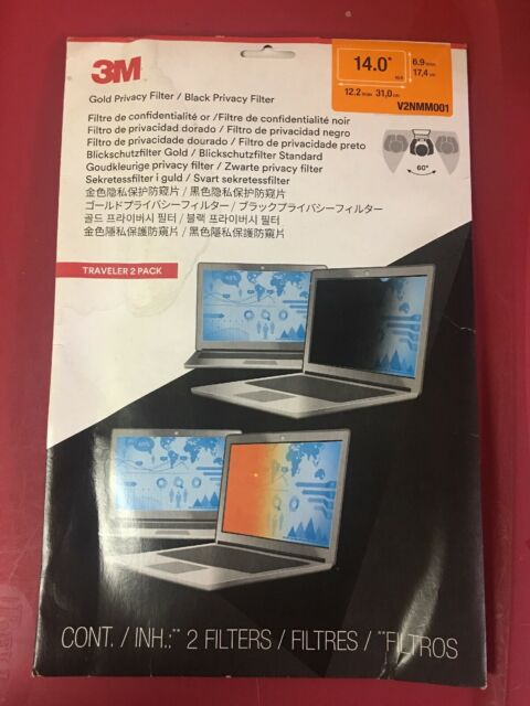 3M Gold Privacy Filter for 13.3 Widescreen Laptop