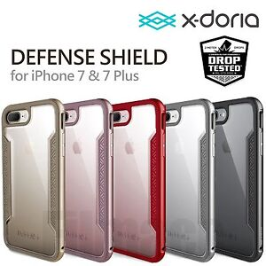 brand new 93a9d 565f4 Details about X-doria Defense Shield Case Cover for Apple iPhone 6 7/7 Plus  i8 XR xmax s9 s10
