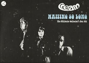 CREAM-034-WAITING-SO-LONG-034-4-LPS-BOX-SET-2009-COLOR-VINYL-NEW-SEALED-RUSSIA-IMPT