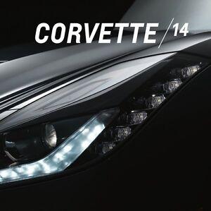 2014 STINGRAY CORVETTE LT1 - DEALER BOOK BROCHURE - C7 CHEVROLET 14 GM Z51 6.2L