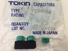 (10 pcs) FS0H473Z - Tokin, .047F  5.5v Supercapacitor(Memory Back-Up Capacitor)