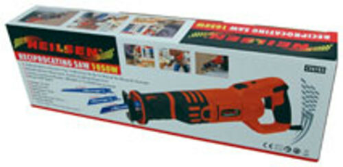Reciprocating Saw with Adjustable Handle  and Accessories 1050 W 240 v