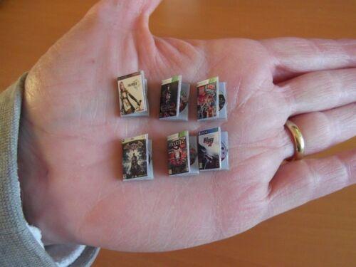 Final Fantasy XIII,Batman Castlevania Lego. Set 6 VideoGame Giochi miniature