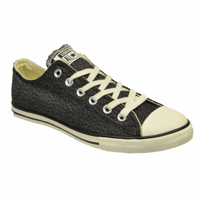 0f1206e727a Converse Chuck Taylor Lean Ox Black Mens Trainers UK 9 for sale ...