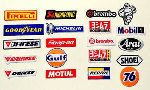New-Racing-Sport-Embroidered-Sew-Iron-On-Patch-TANA-1