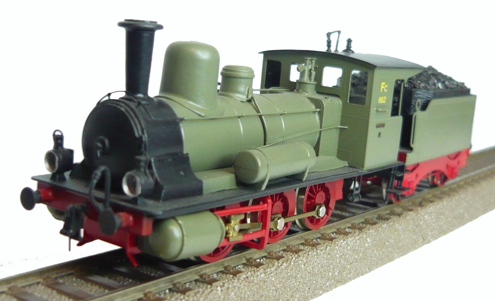 Intermodel 87052 Freight Train Steam Locomotive 662 I fear FC The K. I fear. STS. B. New & in Original Box