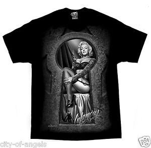 Marilyn-Monroe-Infamous-Sexy-Tattoo-David-Gonzales-DGA-Chicano-Art-T-Shirt