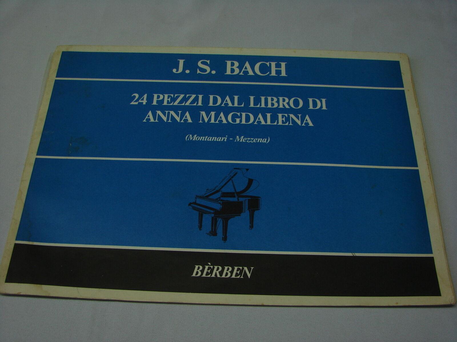 Bach 19 pezzi facili dal Libro di Anna Magdalena