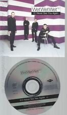 CD--WET WET WET--IF I NEVER SEE YOU AGAIN--PROMO