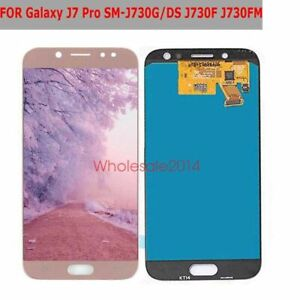 Details about For Samsung Galaxy J7 Pro 2017 J730G J730 J730F/DS LCD  Display Touch Screen PINK