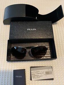prada-sunglasses-mens-In-Box-Tags-New-Never-Used-Sliver-Frame-Tortoiseshell