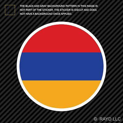 Sticker Die Cut Decal vinyl 2x got armenia