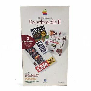 Apple Mac CD ROM Collection Encyclomedia 2 Vintage Computer Macintosh