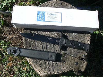 Importato Dall'Estero Coltello Eickhorn Solingen Eifk2000 White Smooth Knife Messer Couteau Navaja