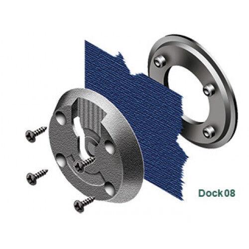 DOCK08 KlickFast Klick Fast Screw Fit Garment Dock Body Camera//Radio