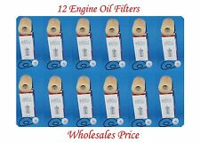 12 Engine Oil Filter Fit:Toyota Land Cruiser Sequoia Tundra 4.0L V8 4.6L V8 5.7L