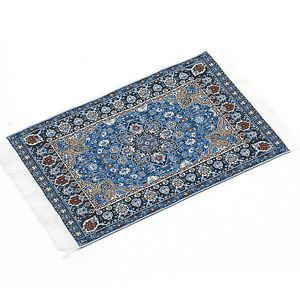 Blue Starry Night Carpet For 1//12 Dollhouse Miniature Toy House Decor Kids US