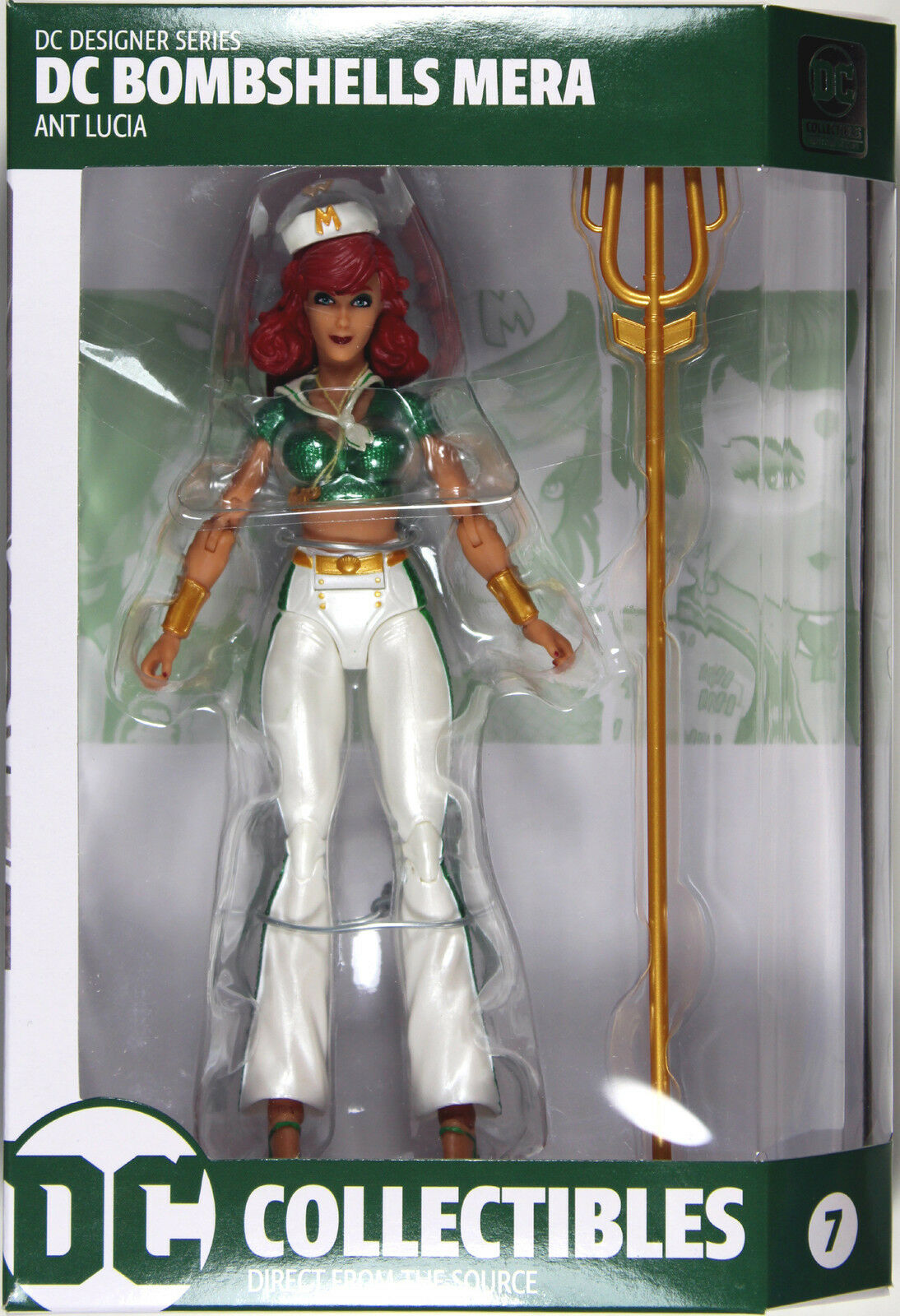 DC Bombshells  MERA ACTION FIGURE  DC Collectibles Ant Lucia