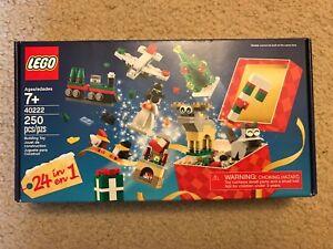 LEGO 40222 Holiday Countdown Calendar Advent Calendar Exclusive NEW