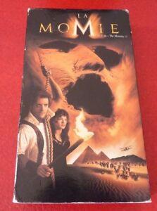VHS-Movie-La-Momie-Version-Francaise-Brendan-Fraser