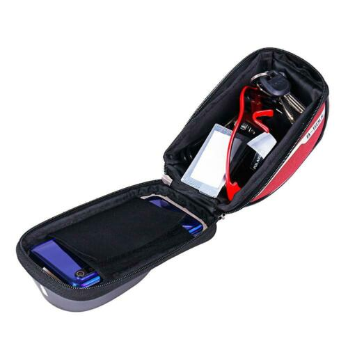 Waterproof Cycling Bag Bicycle Top Front Frame Pannier Tube Bag Pouch Bike Bag