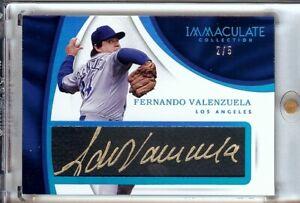 Fernando-Valenzuela-2017-Immaculate-Tweed-Weave-Blue-Auto-Dodgers-FV-2-5